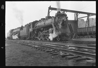 Canadian National Railway steam locomotive 5300