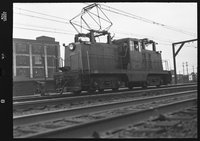 Canadian National Railway electric locomotive 202