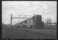 New Haven Railroad diesel and electric locomotives, 1958 December 30