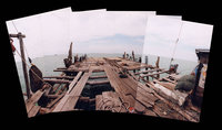 Panorama Of A Jermal (Fishing Platform)