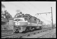 New Haven Railroad electric and diesel locomotives, 1959 May