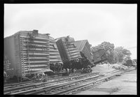 Wreck at Newtown and diesel locomotives, 1959 June 1-7