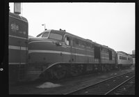 New Haven Railroad and Boston & Maine Railroad diesel locomotives, 1959 August