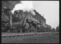 Canadian National Railway steam locomotive 6202