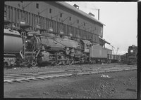 Canadian National Railway steam locomotive 4073