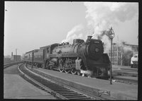 Canadian Pacific Railway steam locomotive 2470
