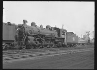 Canadian National Railway steam locomotive 5608