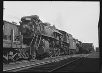 Canadian National Railway steam locomotive 3500