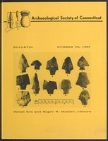 Bulletin of the Archaeological Society of Connecticut, 1985, v. 48