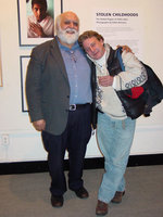 Robin Romano And Sal Scalora At The Benton Museum