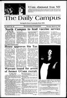The Daily Campus, Volume 92, Number 96