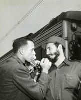 Fidel Castro, New Haven railroad station