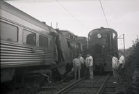 New Haven Railroad train 344, in accident in Bethel