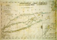 Chart of the Coast of America from New York to Rhode Island