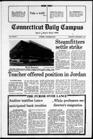 Connecticut Daily Campus, Volume 81, Number 3