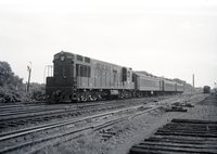 Central Railroad of New Jersey locomotive 2402, Bound Brook