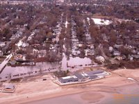 Beach Road in Farifield CT
