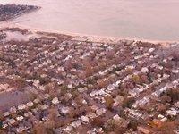 Bridgeport Flooded Streets Looking to Ocean