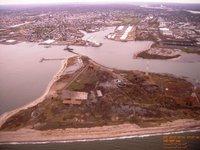 Bridgeport Harbor Flooded