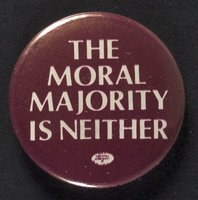 Moral Majority is Neither button