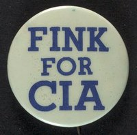 Fink for CIA button