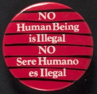 No Human Being button
