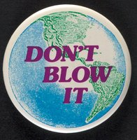 Don't Blow It button
