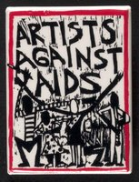 Artists Against AIDS button