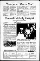 Connecticut Daily Campus, Volume 82, Number 15