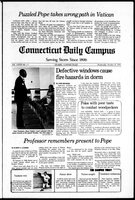 Connecticut Daily Campus, Volume 82, Number 28