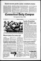 Connecticut Daily Campus, Volume 82, Number 46