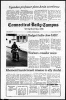 Connecticut Daily Campus, Volume 82, Number 74