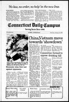 Connecticut Daily Campus, Volume 82, Number 76
