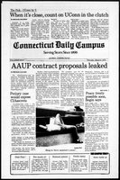 Connecticut Daily Campus, Volume 82, Number 87