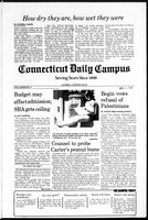 Connecticut Daily Campus, Volume 82, Number 90