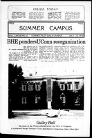 Connecticut Daily Campus, Summer Campus, Volume 83, Number 4