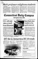 Connecticut Daily Campus, Volume 83, Number 62