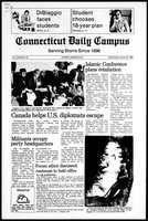 Connecticut Daily Campus, Volume 83, Number 67