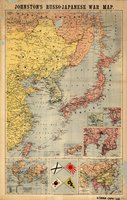 Johnston's Russo-Japanese War map