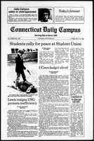Connecticut Daily Campus, Volume 85, Number 120