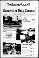 Connecticut Daily Campus, Volume 87, Number 1