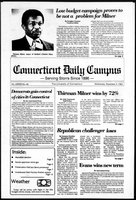 Connecticut Daily Campus, Volume 87, Number 44