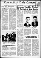 Connecticut Daily Campus, Volume 69, Number 92