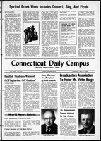 Connecticut Daily Campus, Volume 69, Number 125