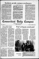Connecticut Daily Campus, Volume 71, Number 31