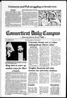Connecticut Daily Campus, Volume 87, Number 93
