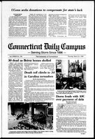 Connecticut Daily Campus, Volume 87, Number 100