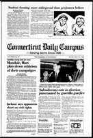 Connecticut Daily Campus, Volume 87, Number 97