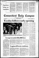 Connecticut Daily Campus, Volume 80, Number 1