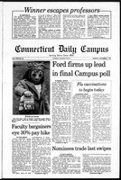 Connecticut Daily Campus, Volume 80, Number 40
